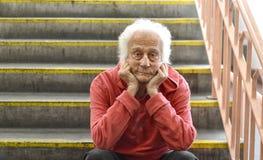 старший человека Стоковые Фотографии RF