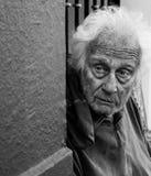 старший человека стоковое изображение
