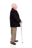 Старший человек смотря вверх Стоковые Фотографии RF