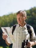 старший hiker Стоковая Фотография