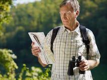 старший hiker Стоковые Фото