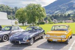 Старые автомобили Стоковое Изображение RF