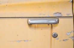 Старые автомобильные двери стоковое фото rf