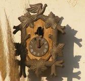 Старые античные часы стены Стоковые Фото