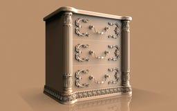 Старые архитектурноакустические изображения оформления, украшения искусства и пейзажа иллюстрация штока