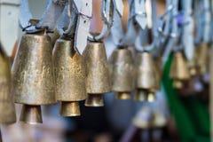 Старые латунные колоколы Стоковая Фотография RF