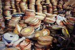 Старые банки фильма Стоковые Фотографии RF