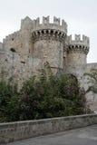 Старые башни замка Стоковое Фото