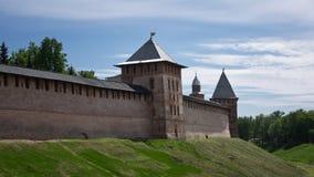 Старые башни Новгорода Кремля Стоковые Изображения RF
