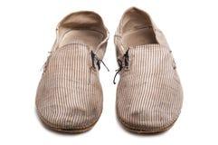 старые ботинки смещают worn Стоковая Фотография RF