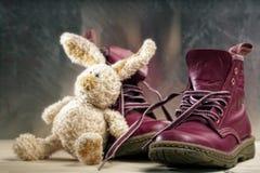 Старые ботинки Стоковые Фотографии RF