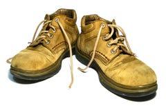 Старые ботинки Стоковое Изображение