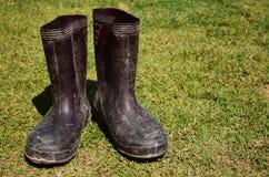 Старые ботинки 01 Стоковая Фотография RF