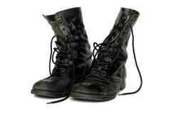 старые ботинки Стоковая Фотография RF