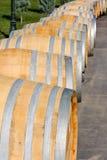 Старые бочонки вина Стоковые Изображения RF