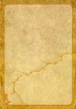 Старые бумага и рамка стоковые изображения