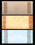 старые бумаги орнаментов Стоковые Фото