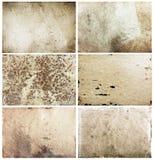 Старые установленные бумаги Стоковая Фотография RF