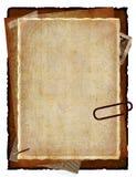 старые бумаги Стоковое фото RF