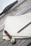 старые бумаги Стоковые Фото