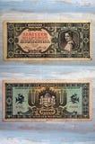 Старые бумажные деньги в винтажном настроении стоковое фото
