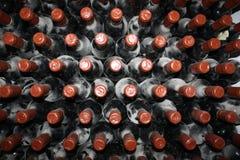 Старые бутылки лозы Стоковое Изображение RF