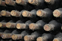 Старые бутылки лозы Стоковое фото RF