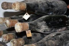 Старые бутылки лозы Стоковые Фотографии RF