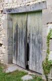 Старые двери амбара Стоковые Фото