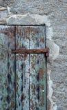 Старые дверь и стена Стоковые Изображения RF