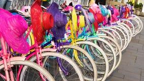 Старые велосипеды арендные Стоковые Изображения RF