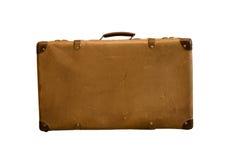 Старые винтажные чемоданы сумки стоковые фото