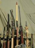 Старые воинские винтовки Стоковые Изображения