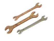 старые гаечные ключа Стоковая Фотография RF