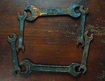 старые гаечные ключа Стоковое Изображение RF