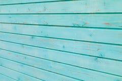 Старые голубые деревянные планки текстурируют стену для дизайна стоковая фотография rf