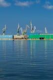 Старые города и гавань Стоковое фото RF