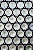 Старые готские окна Стоковые Фото