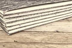 Старые гроссбухи Стоковое фото RF