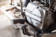 Старые двигатели мотоцикла стоковое изображение rf