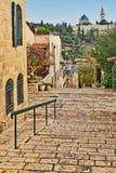 Старые дома в Иерусалиме Стоковое Фото