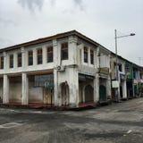 Старые дома в Penang Стоковое Фото