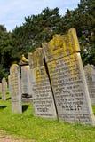 Старые еврейские могилы Стоковое Изображение