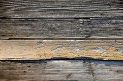 Старые деревенские деревянные планки, деревянная текстура Стоковая Фотография RF