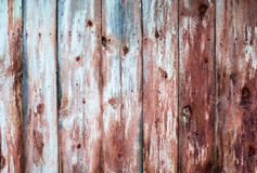 Старые деревянные затрапезные планки в строке, backg Стоковая Фотография RF
