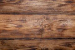 Старые деревянные, который сгорели таблица или доска для предпосылки Космос для текста Стоковая Фотография RF