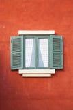 Старые деревянные окна Стоковые Изображения