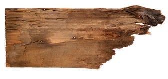 Старые деревянные доски изолированные на белой предпосылке Закройте вверх пустого деревянного знака на белой предпосылке с путем  Стоковое Изображение