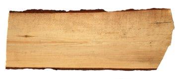 Старые деревянные доски изолированные на белой предпосылке Стоковые Изображения