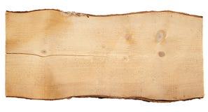 Старые деревянные доски изолированные на белой предпосылке Стоковая Фотография